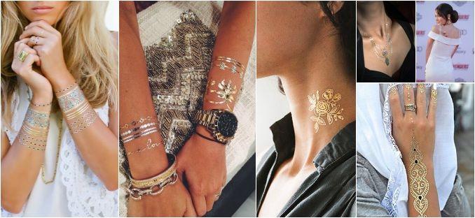 Shimmer tattoos