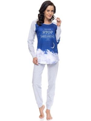 Pižama dolga Dn-nightwear Stop Dreaming Vel. L, Out -40% /xms